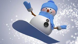 Снеговики зажигают! Очень веселая песня для детей и взрослых