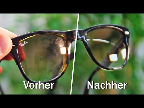 Nie wieder Brillenputztücher: Mit diesem Trick sparst du bares Geld