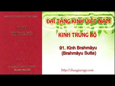 Kinh trung bộ - 091. Kinh Brahmayu