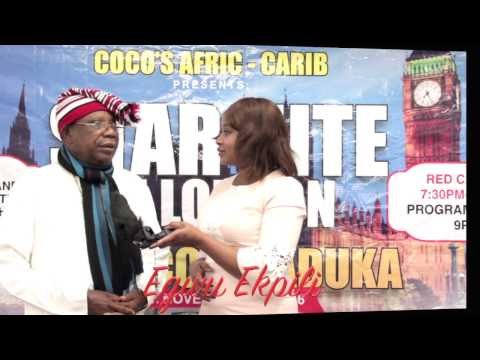 Star Nite in London with Morocco Maduka