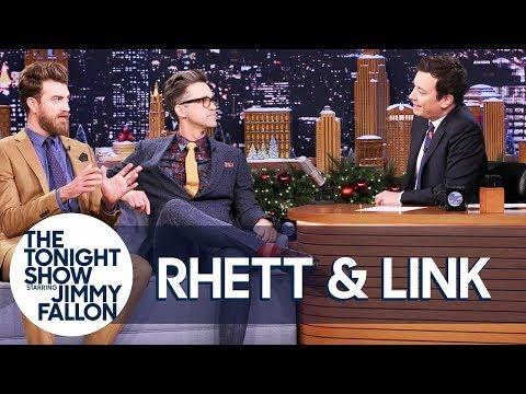 Rhett & Link Bring Jimmy a Christmas Elf on a Booty Shelf