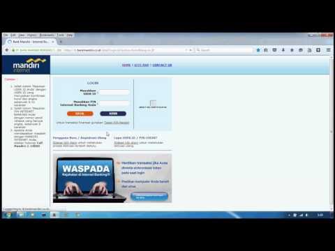 Step by Step Aktivasi Mandiri Internet Banking