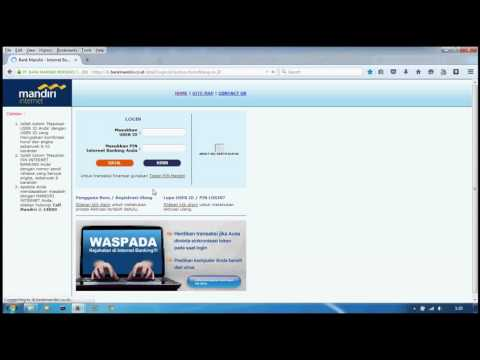 Video Step by Step Aktivasi Mandiri Internet Banking