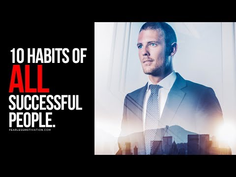 , title : '10 Habits Of All Successful People!