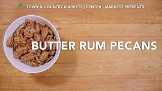 Butter Rum Pecans