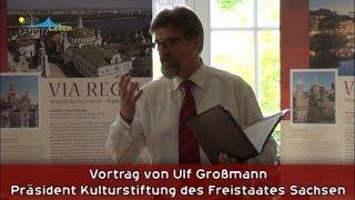 preview picture of video 'Zukunftswerkstatt VIA REGIA - Ulf Großmann - Mai 2014 Schloss Königshain'