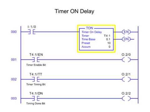 Timer On and Off Delays