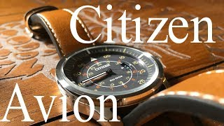 The ever affordable Flieger, The Citizen Avion Review AW1361-10H