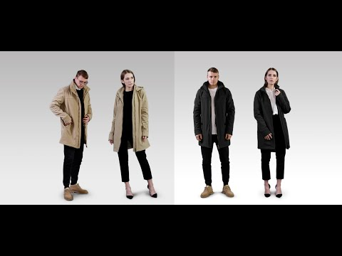 Zerod – Performance Jacket With A Trench coat Look-GadgetAny
