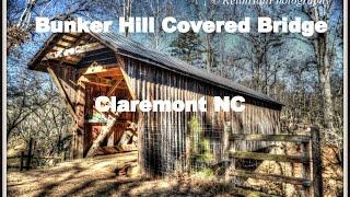 Bunker Hill Covered Bridge, Claremont NC, Catawba County
