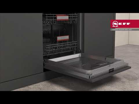 NEFF Built In 60 Cm Dishwasher Fully S195HCX26G - Fully Integrated Video 1