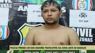 preview picture of video 'Polícia prende um dos maiores traficantes da zona leste de Manaus'
