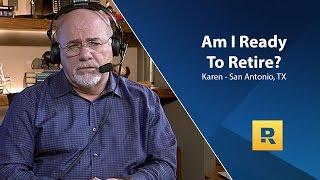 Am I Ready To Retire?