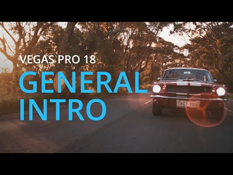 General Introduction   LIVE Training for VEGAS Pro - YouTube