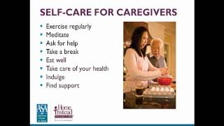 How to Balance Work and At Home Care — Professional Caregiver Webinar