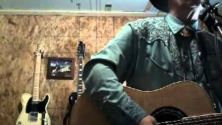 Cover green green grass of home by Johnny Cash
