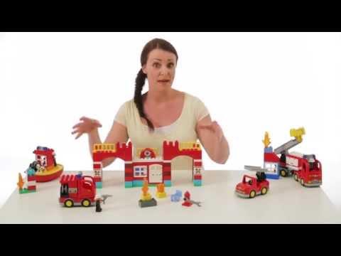 LEGO® DUPLO® Пожарное депо 10593