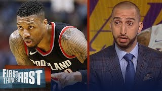 Nick Wright: Lakers should target Damian Lillard if they can