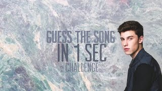 Guess The Song In 1 Sec!   Shawn Mendes Edition