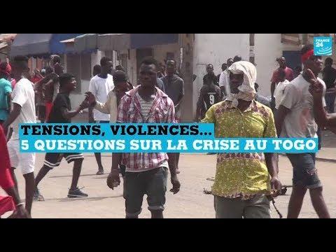 Cinq questions sur la crise au Togo