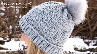 How To CROCHET STAR STITCH HAT