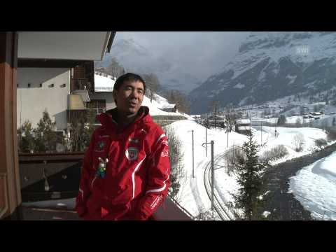 Азиатский подход к жизни и лыжам
