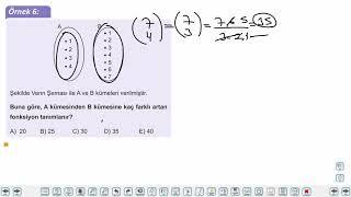 Eğitim Vadisi AYT Matematik 1.Föy Fonksiyonlarla İlgili Uygulamalar Konu Anlatım Videoları