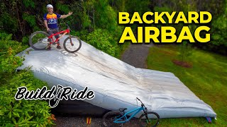 This week, we couldn't really stomach a big and complex build. We decided it was time to bring the airbag back out, but not without tuning up the approach. The new Airbag trail is quicker, safer, and more fun than ever before. Also in this video, Alexander tries the airbag for the first time.  Check out our second channel https://www.youtube.com/channel/UCOpP5PqrzODWpFU961acUbg  Berm Peak Merch https://cognativemtb.com/collections/seths-bike-hacks-collection  Berm Peak Playlist https://bit.ly/2jXkMEq Berm Creek Playlist https://bit.ly/2lzA56O  Instagram https://www.instagram.com/sethsbikehacks Facebook https://www.facebook.com/sethsbikehacks  Music in this video is from  http://share.epidemicsound.com/trQSg and https://soundstripe.com?fpr=seth20 #mountainbiking  I'm also working on a long-term moonshot project: Building a free public bike park! Join my Patreon and 100% of the proceeds go towards funding this project. https://www.patreon.com/sethsbikehacks  Advertising disclosure: All of these videos contain products, logos, or mentions associated with Diamondback Bicycles. Whether or not the video itself was sponsored by Diamondback, they do support this channel, and by extension, every video on it.