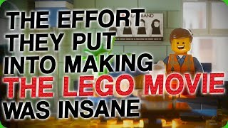 The Effort They Put Into Making 'The Lego Movie' Was Insane (The Most Creative of All Dongs)