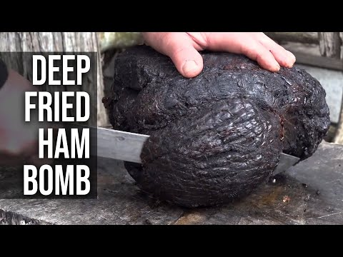 Deep Fried Ham Bomb by the BBQ Pit Boys