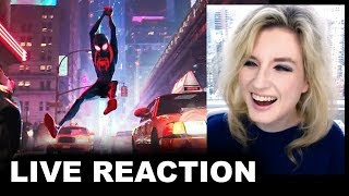 Spider-Man Into the Spider-Verse Trailer REACTION