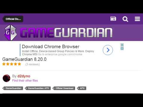 How to download old version - GameGuardian