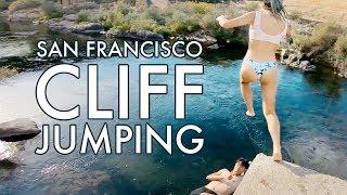 Cliff Jumping Near San Francisco Bay Area   Knights Ferry California
