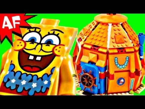 Vidéo LEGO Bob l'éponge 3818 : Fête sous-marine à Bikini Bottom
