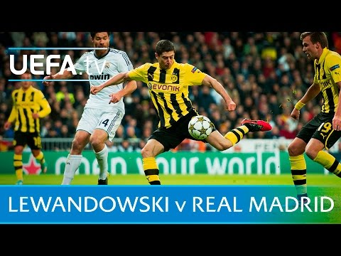 Lewandowski's 5 goals against Real Madrid