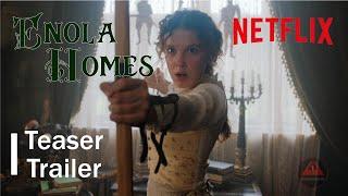 Enola Holmes official  Trailer 2020  / Millie Bobby Brown /  Netflix