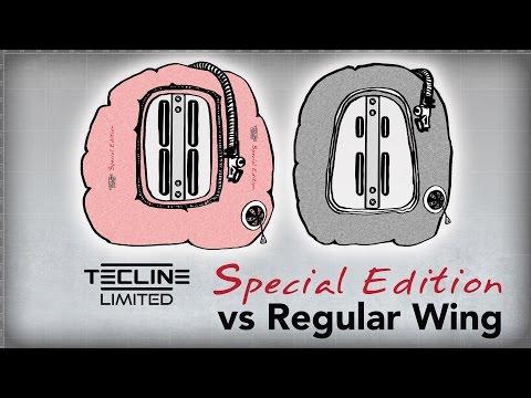 Tecline Donut Special Edition vs Regular Wing