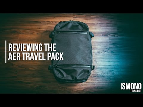 Traveling with one bag? Reviewing the AER Travel Pack