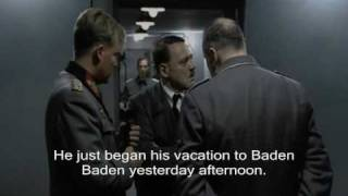 Hitler calls Fegelein Who Is On Vacation