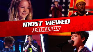TOP 10 | The Voice Kids: TRENDING IN JANUARY 2020