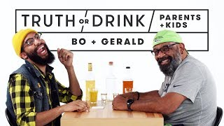 Parents & Kids Play Truth or Drink (Bo & Gerald) | Truth or Drink | Cut