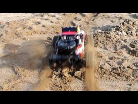 "HSP 1:10 4WD ""Breaker DB"" Sand Rail Buggy Rot"