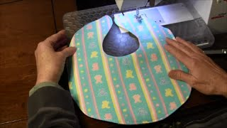 Baby Bib - How to Sew a Simple Baby Bib