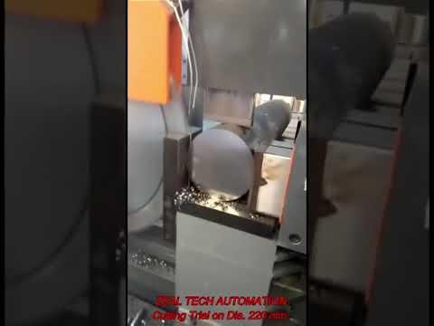 Semi Automatic Band Saw Machine