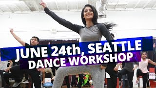 MANPREET TOOR in SEATTLE! (June 24th, DANCE WORKSHOP)