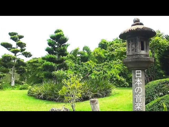 Japanese Music, Zen Music with Traditional Flute, Koto, Shamisen