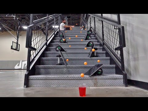 Ping Pong Trick Shots 4 | Dude Perfect