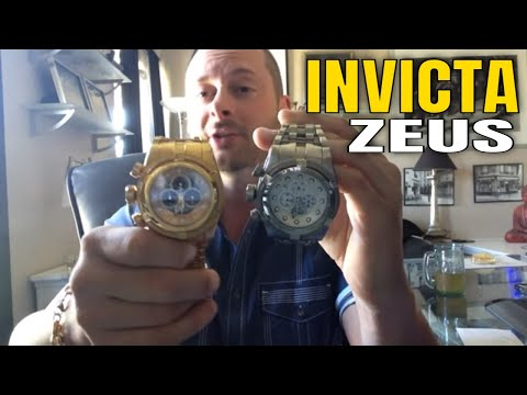 Invicta Watches Review : Invicta Bolt Zeus Watch