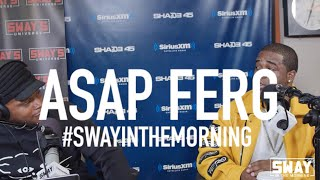 Sway's Universe - ASAP Ferg Freestyles Live + Shares Stories Behind Madonna, Missy, Timbaland & Jay Z