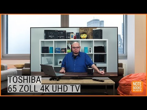 Toshiba 65U6763DA: 4K UHD TV Test - Deutsch / German ►► notebooksbilliger.de